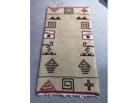 Handmade rug from Tunisia