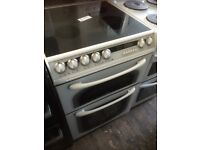 HOTPOINT 60cm electric cooker double oven £199