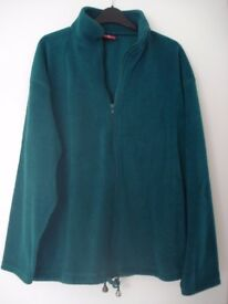 LADIES FLEECE WITH FULL ZIP (FITS SIZE 14/16)