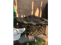 Fire pit with cover £50 ono