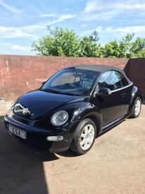 Vw Beetle Convertible,1.4cc,Alloys,Electric Roof, Low Insurance.