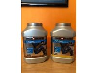 MAXI MUSCLE Cyclone Protein shake - 2x brand new tubs!