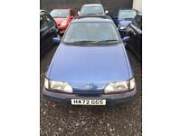 FORD SIERRA 2.0 GLX 1991 1 YEARS MOT DRIVES THE BEST. BARGAIN QUICK SALE