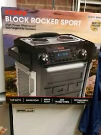 Ion block rocker sport speaker