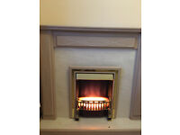 Electric Fire Surround Set Fireplace