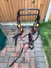 Halfords Two Cycle Rack (suitable for 4x4 cars as rack fits over rear wheel)