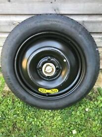 Honda jazz emergency spare tyre