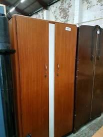 Vintage double door wardrobe
