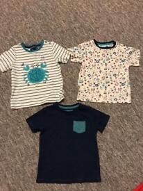18-24 months Boys T Shirts x 3.