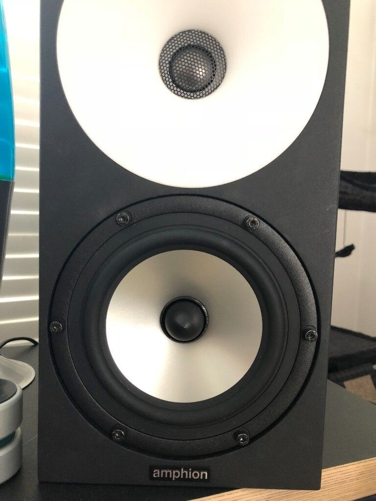 amphion one15 matching amphion amp100 quick sale 900 off studio monitor speaker. Black Bedroom Furniture Sets. Home Design Ideas