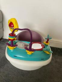 Mamas & Papas Bumbo Style Seat / Snug With Removable Activity Tray