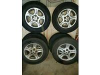 6 x 15 inch freelander alloys
