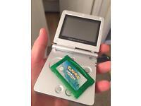 Game Boy Advance , Pokemon Emerald Version.