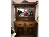 Genuine Art Nouveau Mirrored Dresser