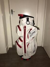 Bag Boy Techno Water waterproof golf cart bag - brand new