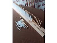 90cm double gauge Peg Weaving Loom