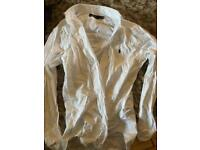 Men's Ralph Lauren Polo white shirt
