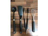 Set of 4 IKEA 365+ HJÄLTE Kitchen Utensils