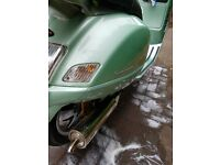 VESPA GT 125 FOR SALE AT £750 OVNO cash only