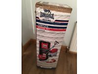 Lonsdale hanging punch bag, boxing gloves and training pads