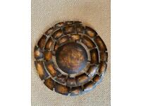 Bronze/Copper Toned Spiral Wall Hanging/Decoration