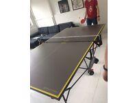 Kettler AXOS 3 Indoor Table Tennis Table - Grey