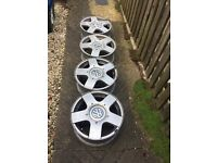 4 x Golf Gti Alloys Excellent Condition