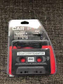 car tape player with aux cable