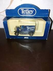 Collectible car tetley tea bags