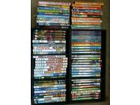 80 + various children's dvds £1 each or £50 for the lot
