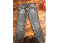 Pepe Jeans Londons Size 12 Ladies