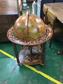 Globe cocktail cabinet