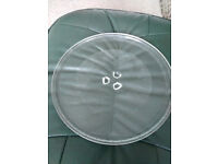 Plate for microwave oven