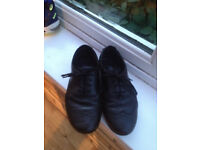 Clarkes Black Girl school shoes UK size 2 1/2