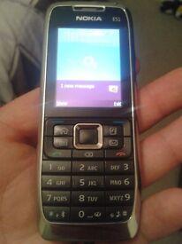 Nokia E51 on o2 in good condition