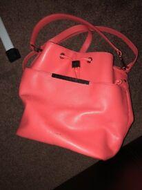 Ted baker coral handbag