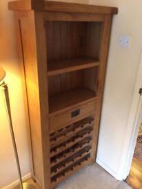 Grantham oak wine rack