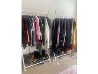 2 Clothes rails