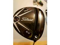 Titleist 915d3 8.5 stiff shaft