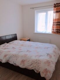 Furnished double room in new build house in residential area for a tidy professional bills included
