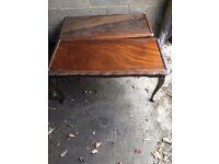 2 Mahogany coffee tables