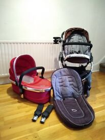iCandy Peach 1 3 in 1 travel system and all of the bits