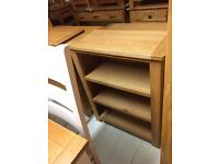 Small solid oak bookcases top quality