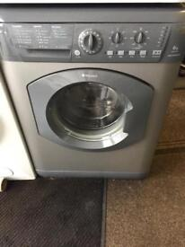 Hotpoint silver good looking 6kg 1200spin washing machine