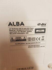 "Alba 24""HD ready dvd tv"