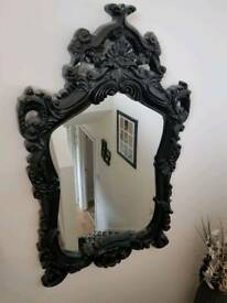 *Large Gothic style mirror*