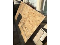 Free sheet of chip wood