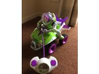 Remote control buzz lightyear toy story