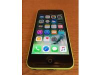 Green iPhone 5c (O2, delivery, more phones)