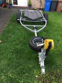 New boat trailer, will carry a boat 15' to 16' long upto 750 kg £550 Ono will deliver for fuel